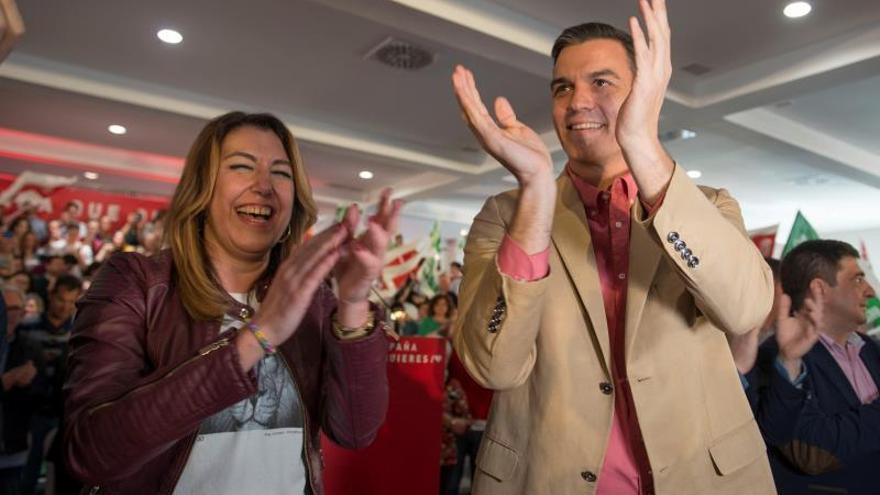 """Sánchez advierte de que si hay urnas vacías """"el 28A habrá involución"""""""