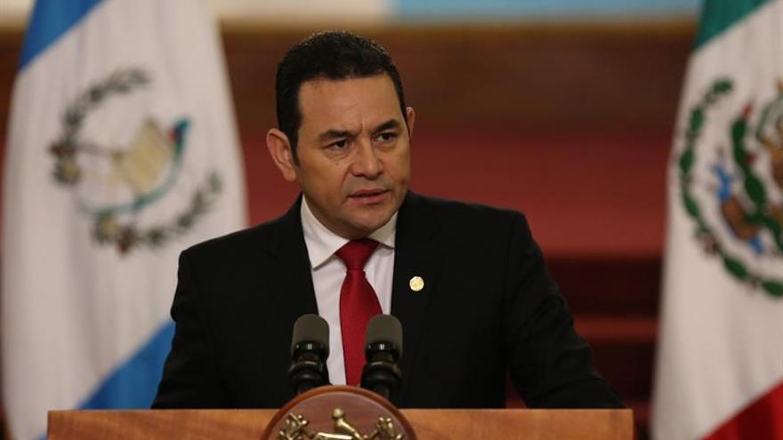 El Congreso de Guatemala modifica los delitos electorales y blinda a Jimmy Morales