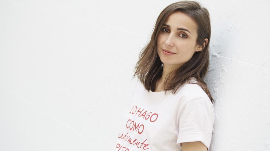 La cantante Zahara.