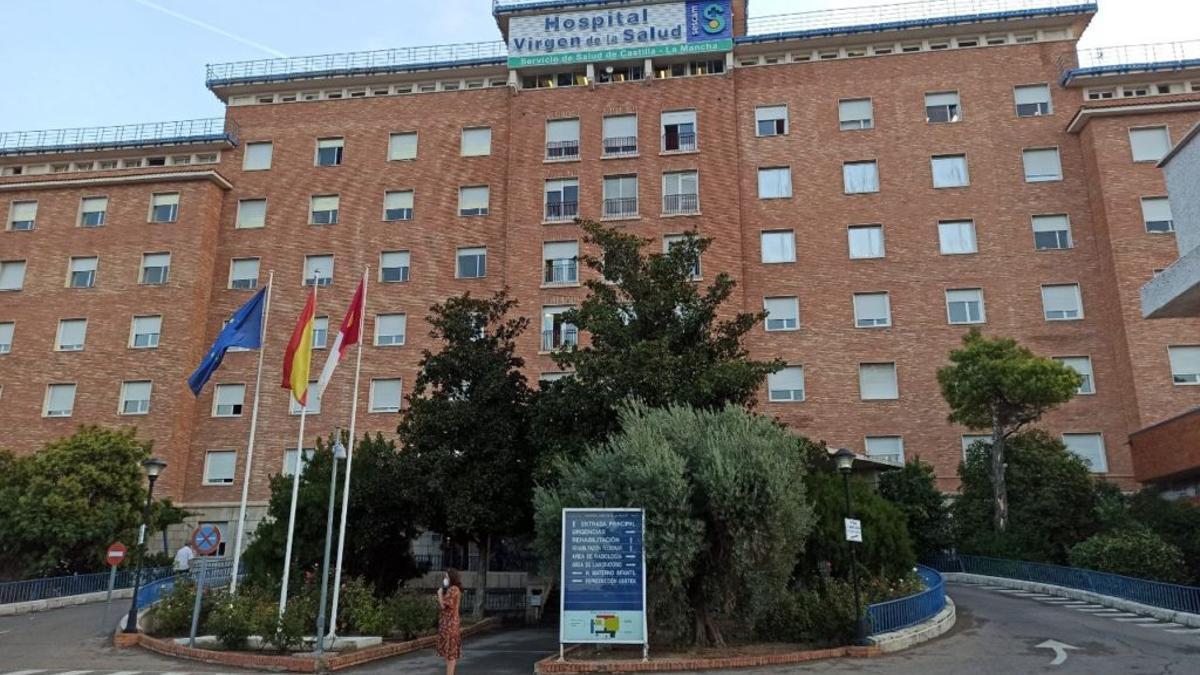 Solo el Hospital Virgen de la Salud de Toledo tiene casi 200 pacientes de COVID