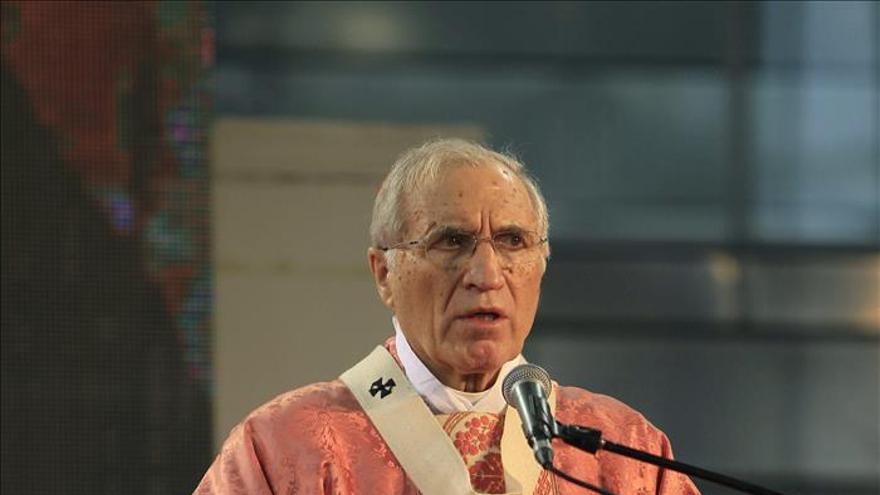 """Rouco dice que la Iglesia tiene que ser como es Cáritas, como """"un hospital de campaña"""""""