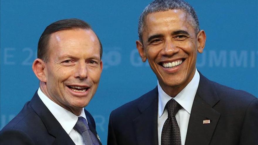 Obama, Cameron y Abbott, los zurdos de la cumbre del G20