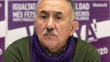 Álvarez (UGT), sobre los despidos en Podemos: Hay que aplicar la ley vigente