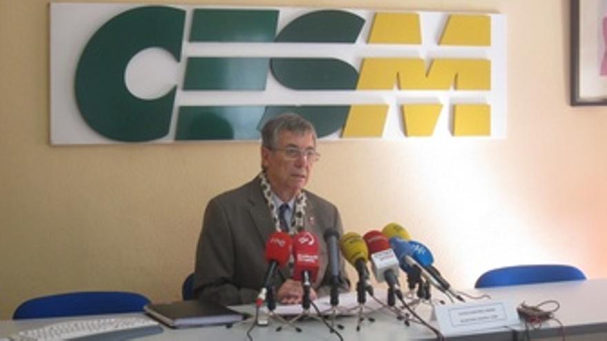 Secretario General De CESM, Patricio Martinez