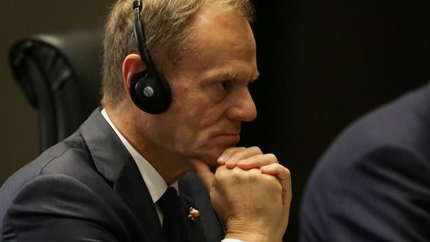 Tusk insta a los líderes de la UE a impulsar los intercambios educativos