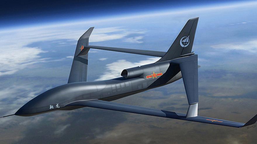 Vehículo aéreo no tripulado de China (Foto: Times Asi | Flickr)