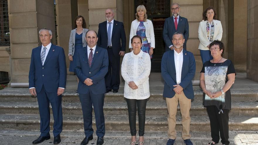 Cinco consejeros del Gobierno foral tienen un sueldo superior al de la presidenta Barkos