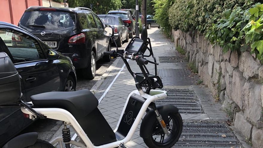 Cuando la movilidad sostenible no es sostenible en el espacio público.