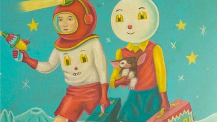 Ilustración de portada de 'Bienvenidos a Welcome', de Laura Fernández