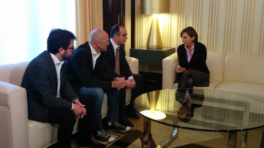 """Romeva admite que no hay apoyos para investir a Mas pero es optimista: """"Hay partido"""""""