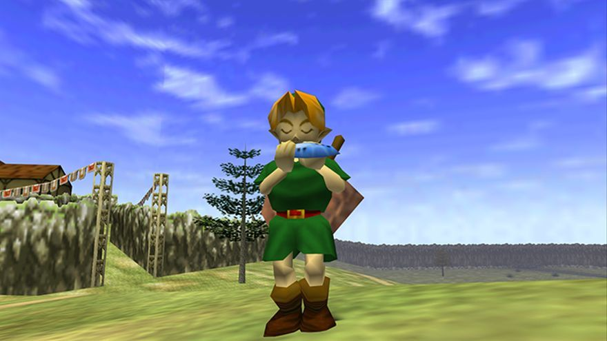 Link, en 'Legend of Zelda: Ocarina of Time'