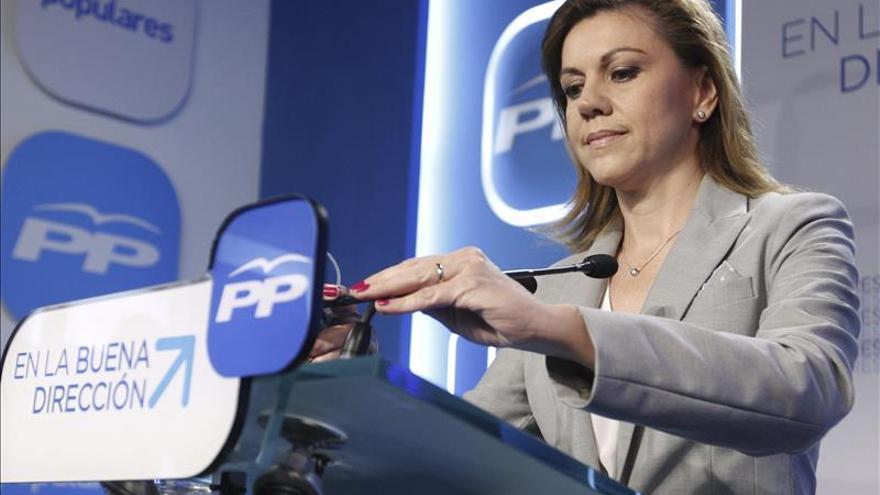 Cospedal destaca que Cañete es el que mejor ha defendido los intereses de España en la UE