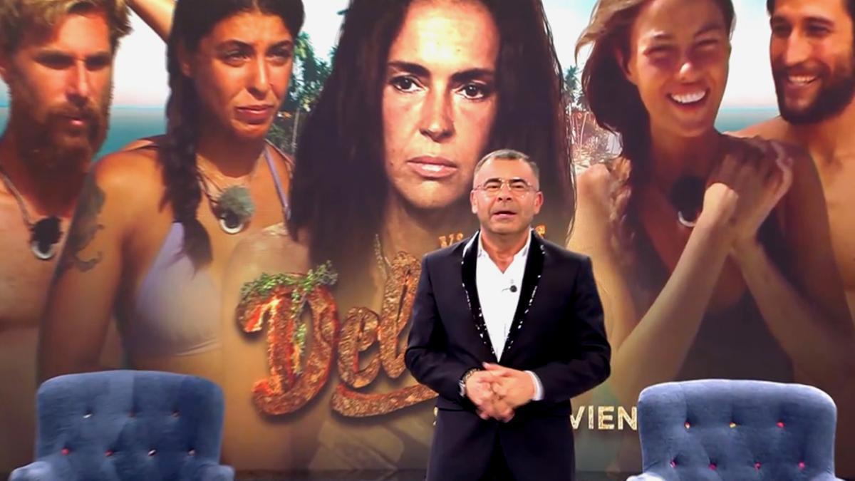 Jorge Javier al anunciar el cambio de emisión de 'Supervivientes'