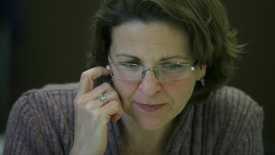 Elena Cebrián, consellera de Agricultura y Medio Ambiente.