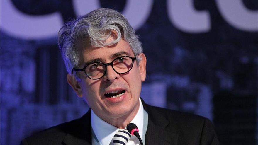 El director saliente del diario 'El País', Javier Moreno. / Efe
