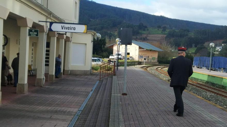 Estación de ferrocarril de Viveiro (Lugo)