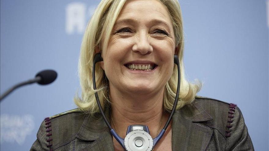 Le Pen espera lograr más de 1.000 concejales y alcaldías en las municipales