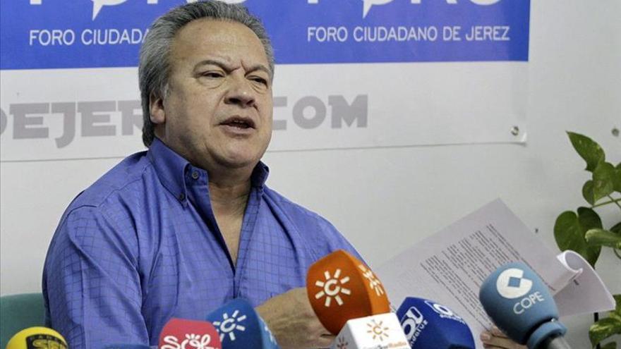 El exalcalde Pacheco deja de ser concejal del Ayuntamiento de Jerez