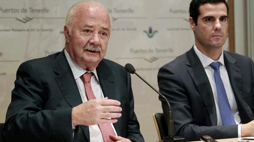 Resultado de imagen de Puertos de Tenerife presidente