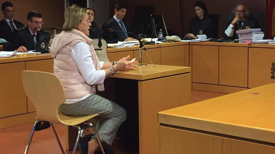 Olga María Ramos, propietaria de una de las fincas que ocupó la bodega Stratvs en el momento de su construcción.