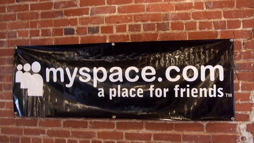 """""""MySpace, un sitio para los amigos"""" Foto: Andrew Mager / Flickr"""