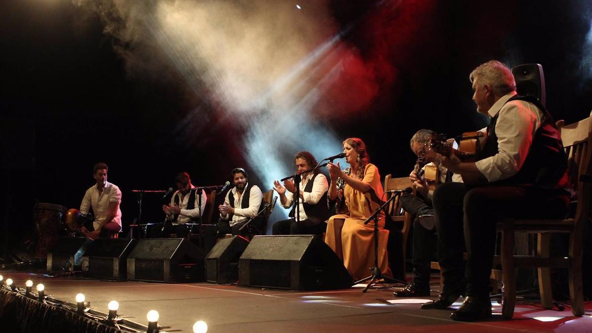 Concierto de Argentinita en Lucena
