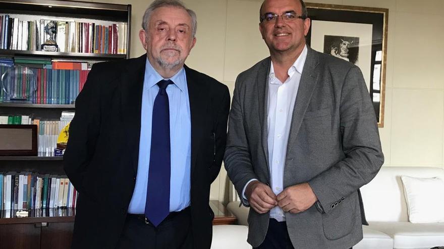 Octavio Granado (i) y Anselmo Pestana.