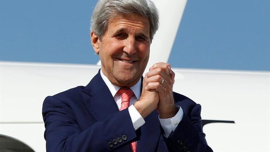 Kerry emprenderá una gira por Francia, Rusia, Luxemburgo, Bélgica y Reino Unido