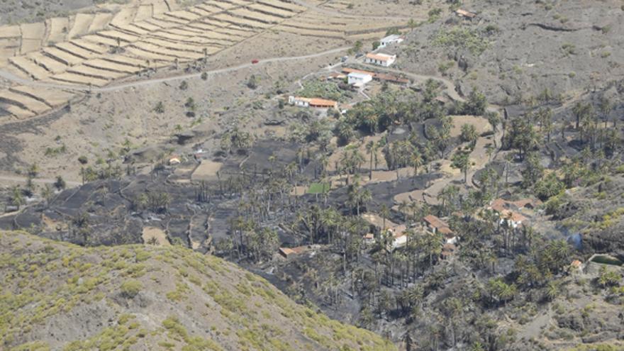Del incendio de La Gomera #4