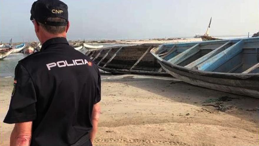 La Policía frustra en Mauritania la salida de un cayuco hacia Canarias y detiene a cuatro personas