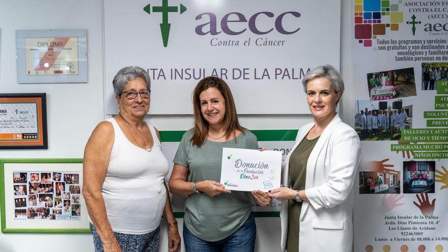 Acuerdo de colaboración entre la Fundación Dinosol y la AECC.