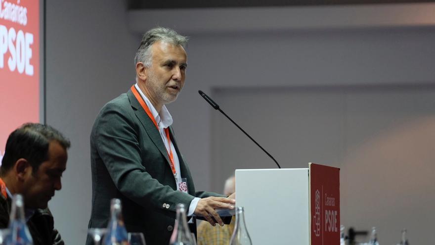 Ángel Víctor Torres en el Comité Regional del PSC