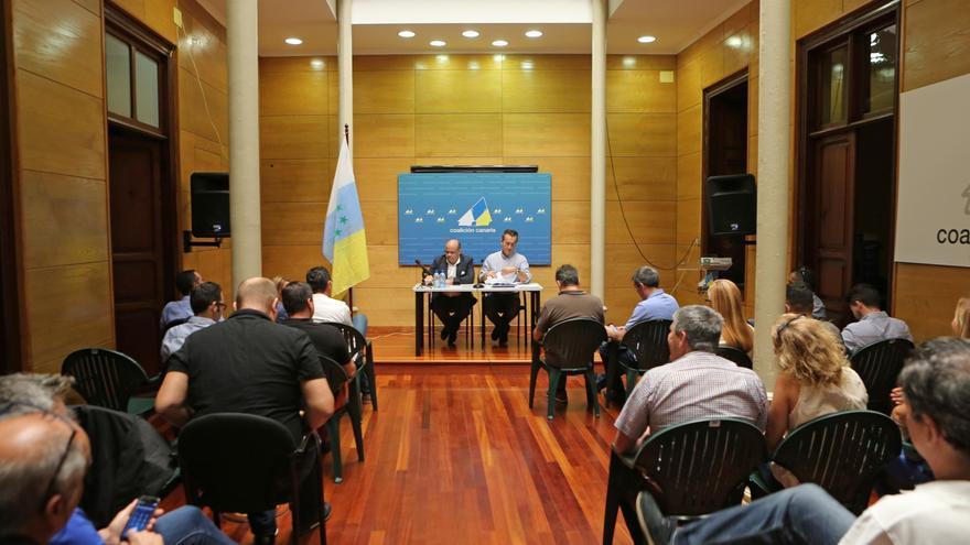 Comisión Ejecutiva Nacional de Coalición Canaria (ALEJANDRO RAMOS)