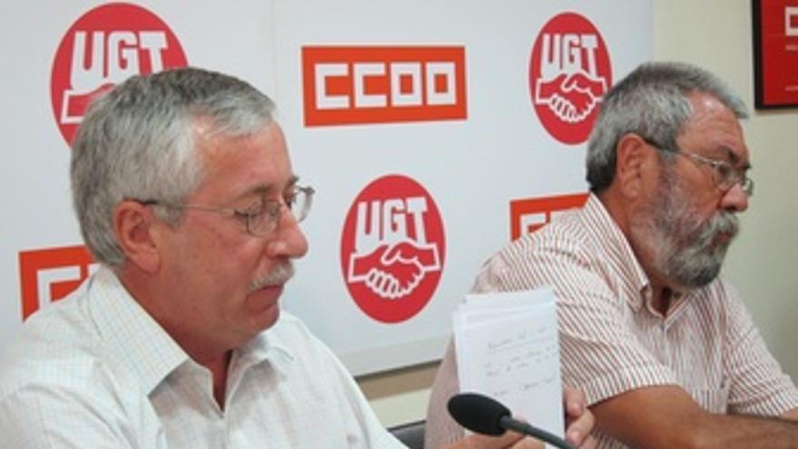 Ignacio F. Toxo Y Cándido Méndez