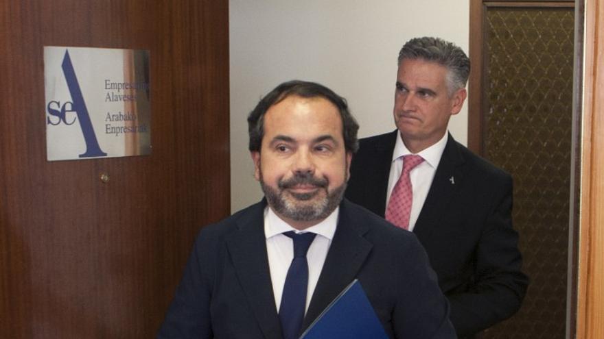 El presidente de SEA Empresarios Alaveses, Pascal Gómez.
