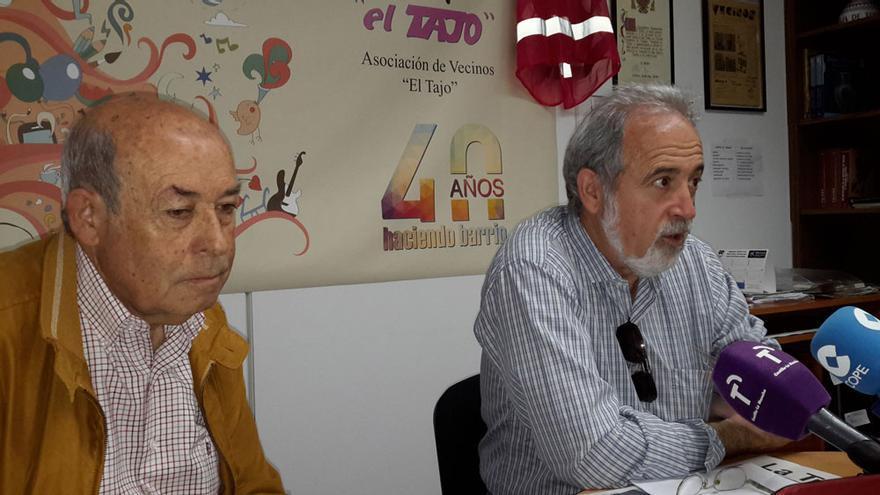 Rueda de prensa de la Asociación de Vecinos 'El Tajo'