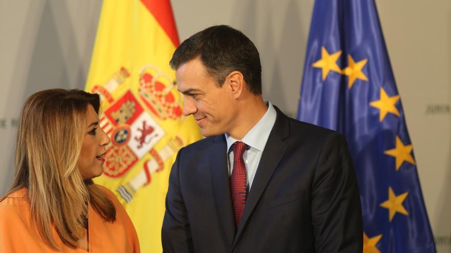 """Díaz califica de muy """"satisfactoria"""" su reunión con Sánchez, que garantiza plan de empleo e inversión por población"""