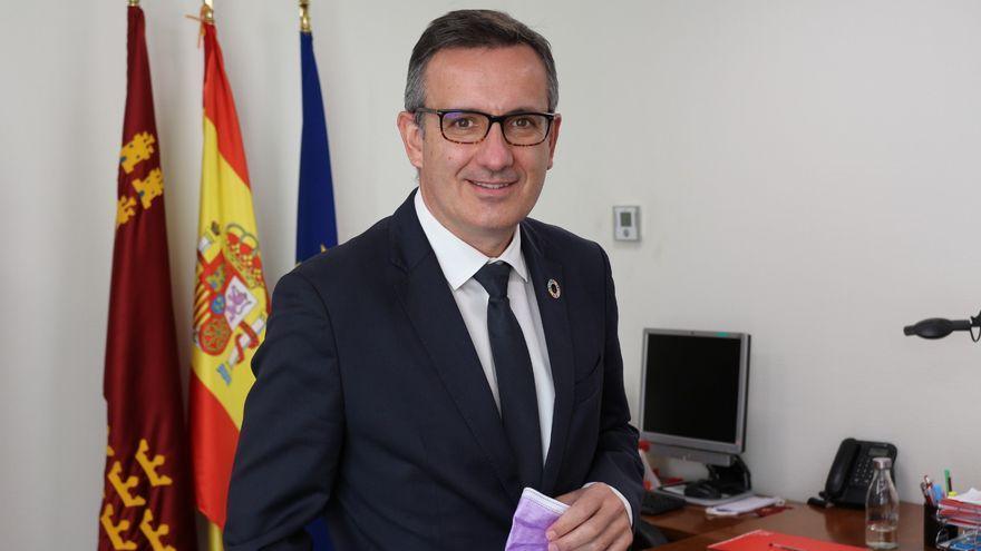 Diego Conesa, secretario general del PSOE en la Región de Murcia