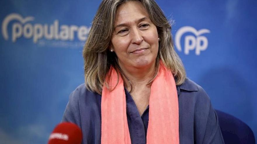 Ana Guarinos, diputada regional del PP de Castilla-La Mancha, en una foto de archivo