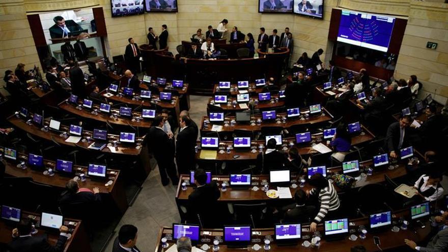 El Congreso colombiano iniciará mañana el trámite de la refrendación del acuerdo de paz