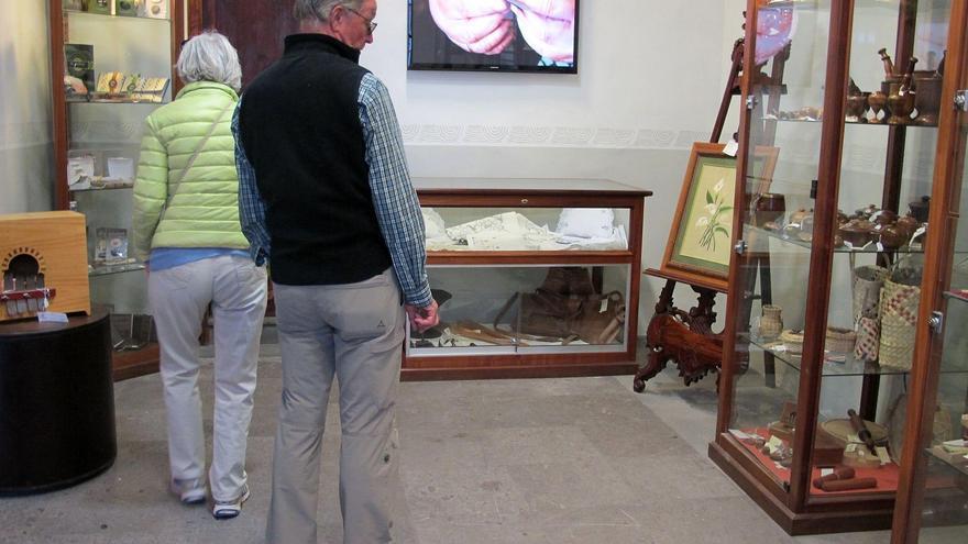 Punto de venta de artesanía de la Casa Salazar de Santa Cruz de La Palma.