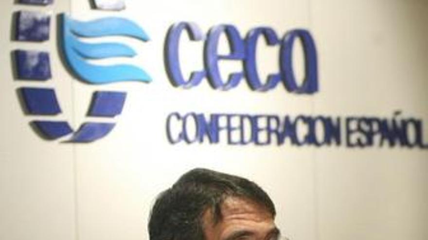 CECA dice que la reordenación va a toda velocidad