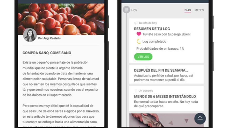 Woom, app para concebir