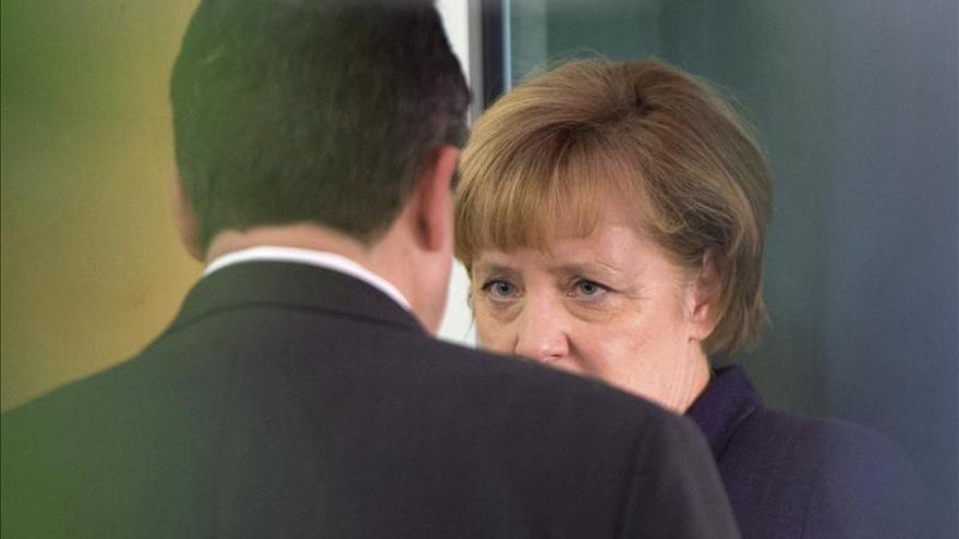 La CDU de Merkel amenaza con nuevas elecciones si no hay acuerdo con el SPD