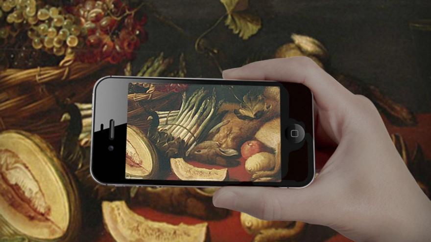 La tecnología puede favorecer un acercamiento al arte. (CA)