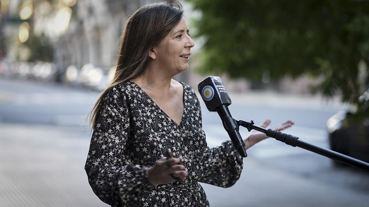 La diputada nacional del Frente de Todos Gabriela Cerruti termina su mandato el 9 de diciembre de 2021.