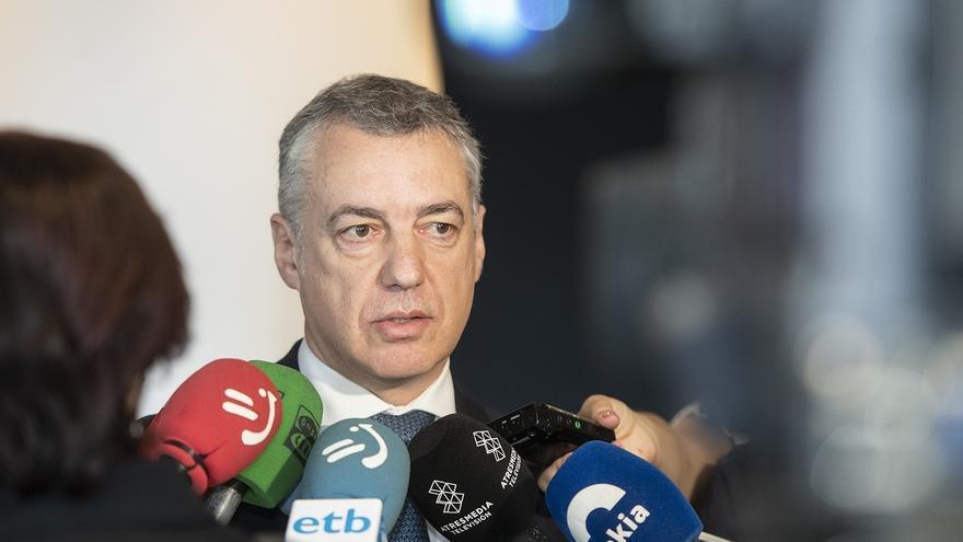 """Urkullu insta a sacar el debate sobre acercamiento de presos de la """"pugna partidaria"""" y a los presos a cumplir la Ley"""