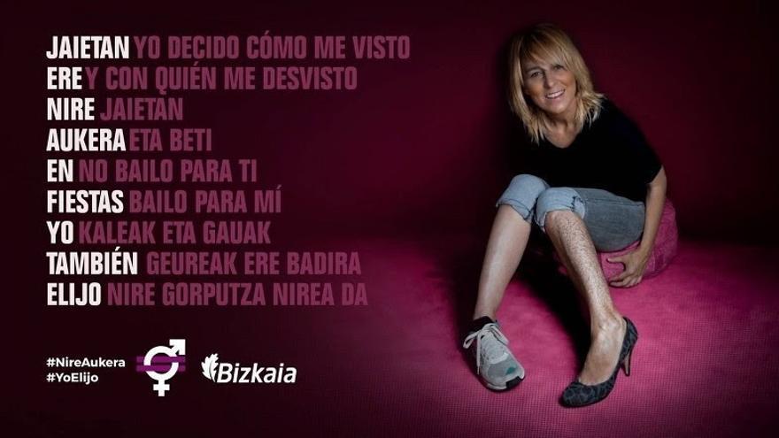 La Diputación de Bizkaia difunde este verano una campaña contra las agresiones sexuales en fiestas