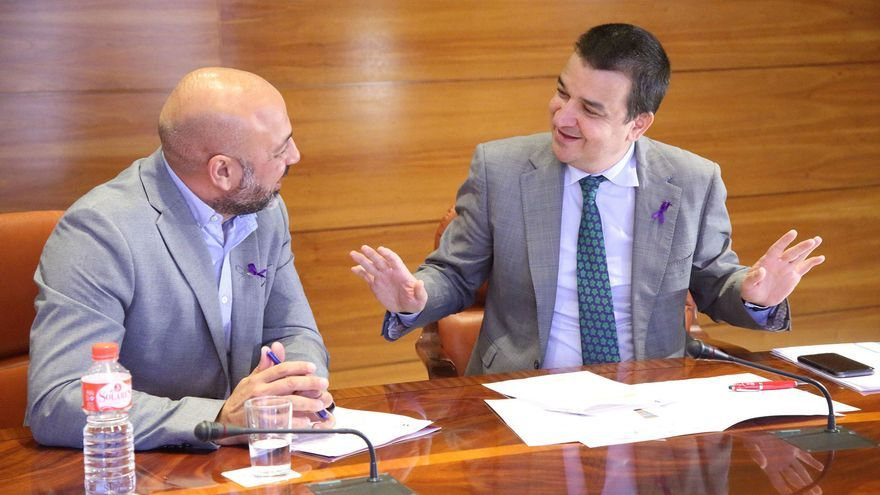 Reunión entre el vicepresidente segundo y el consejero de Agricultura