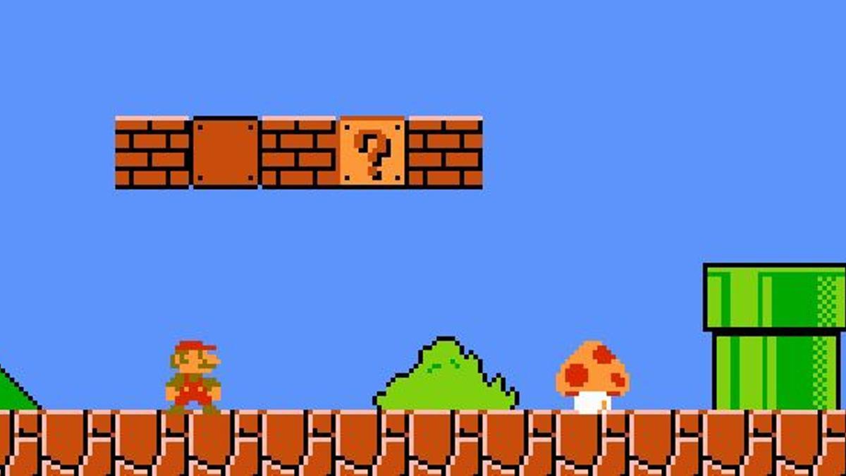'Super Mario Bros.', lanzado por Nintendo en 1985 para la consola NES